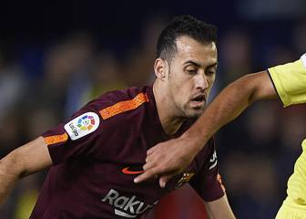 Barça's Busquets walks tightrope ahead of El Clásico