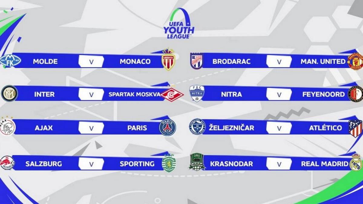 Zeljeznicar-Atlético y Madrid-Krasnodar en la Youth League
