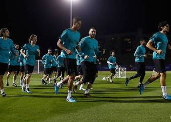 Zidane positive after Bale and Varane return to training