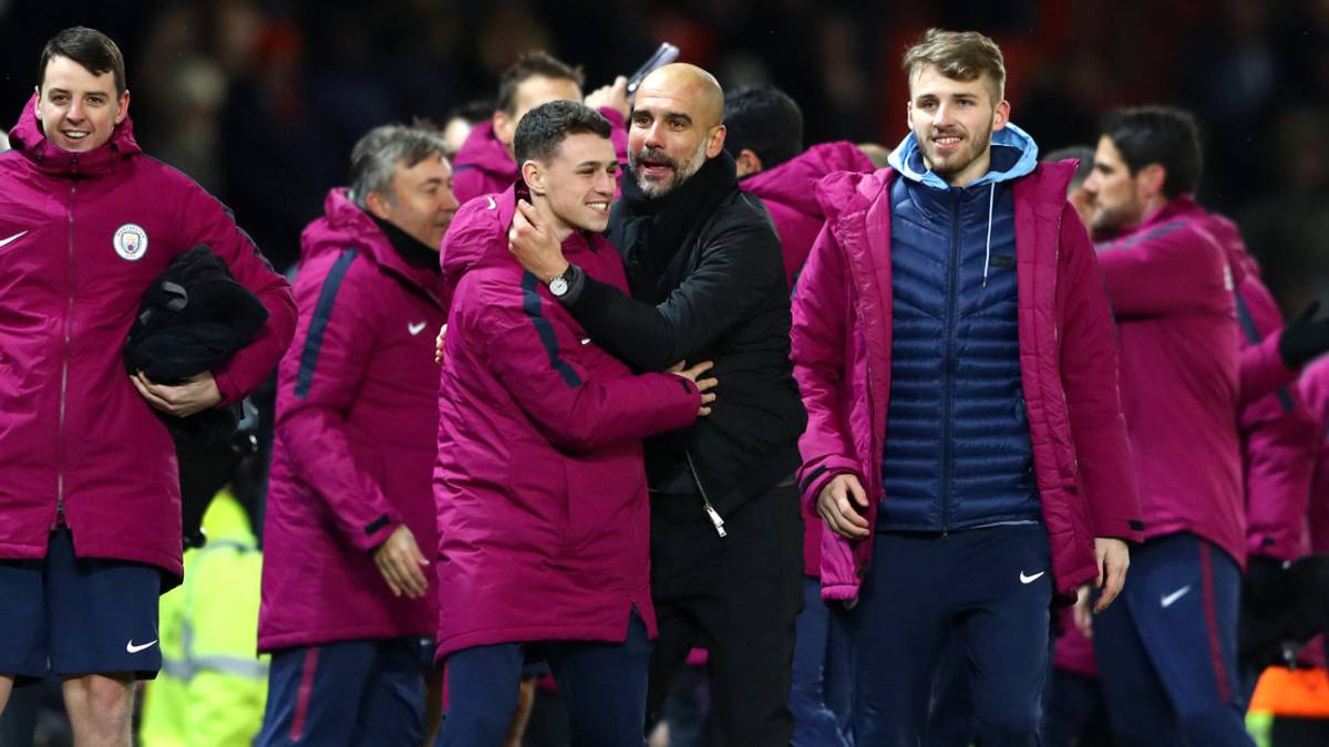 Guardiola sticks up for City players after Old Trafford melee