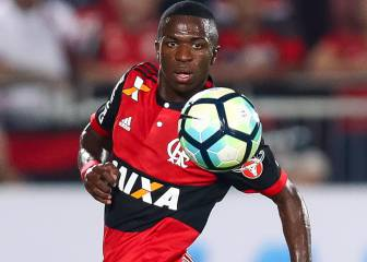 Vinicius Junior warms the bench: why doesn't he start for Flamengo?