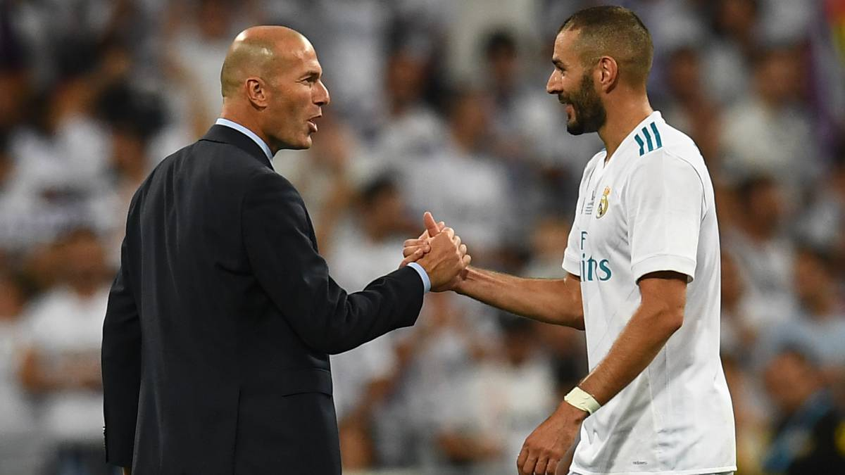 Zidane: nueve defensas a su '9'