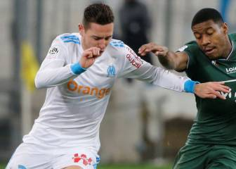 Atlético linked with Florian Thauvin in L'Equipe