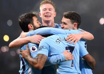 El City abusa del Tottenham