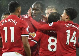 El United cumple ante el West Brom y sigue a 11 del City