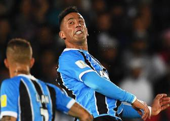 Lucas Barrios has played his last game for Grêmio