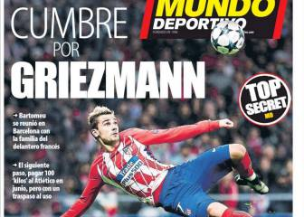 Barça president Bartomeu has already met with Griezmann's family - report