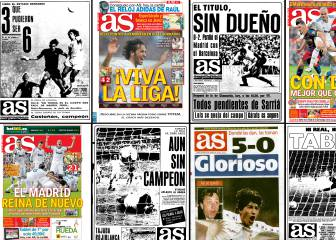 El Clásico: front covers from Liga Bernabéu clashes since 1967