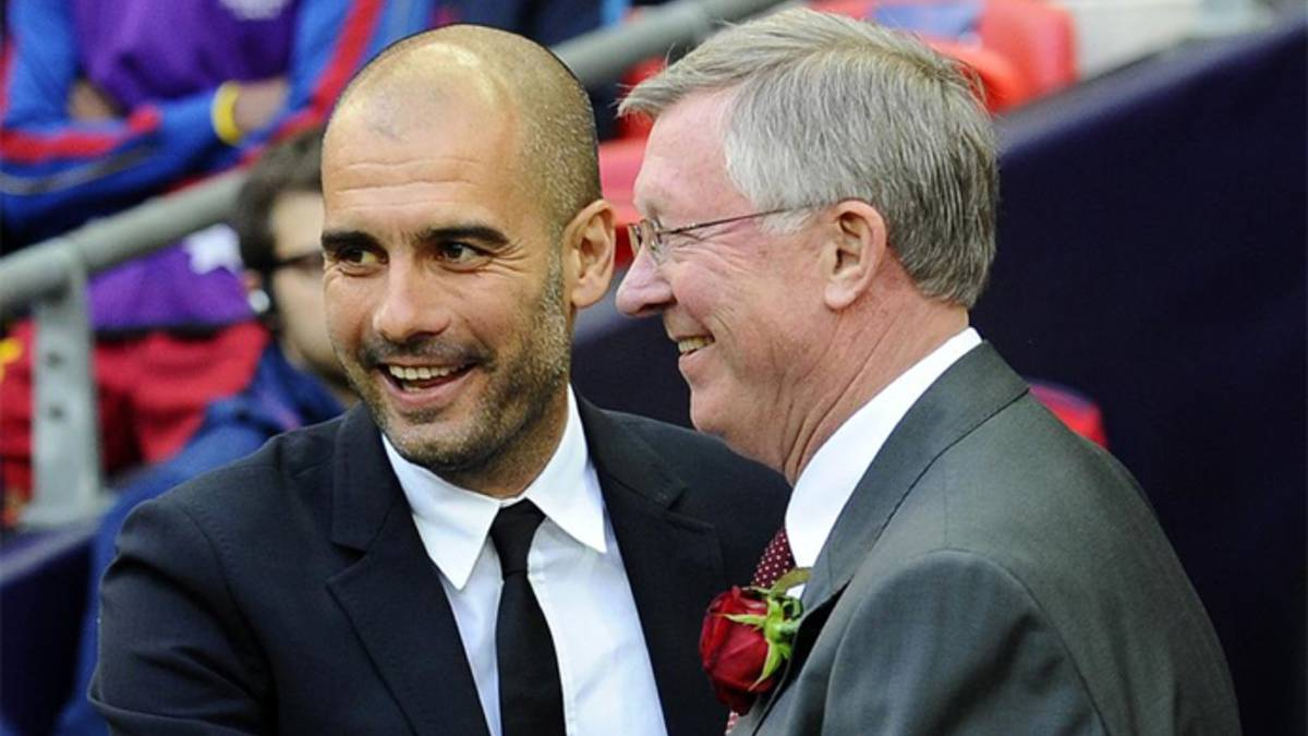 El Manchester City quiere que Guardiola sea su Ferguson