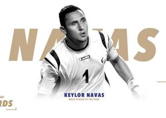 Keylor Navas picks up Concacaf player of the year award