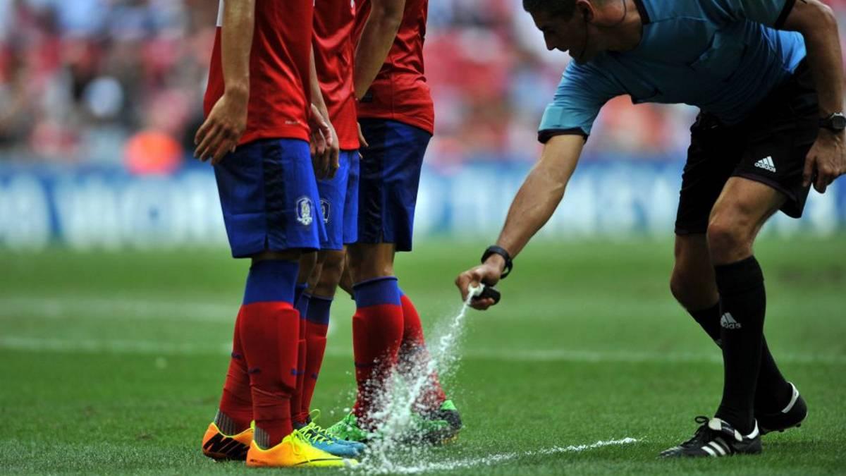 Spray fútbol.