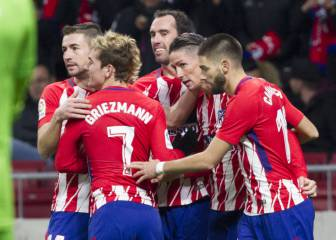 Atlético among three unbeaten teams in top five leagues