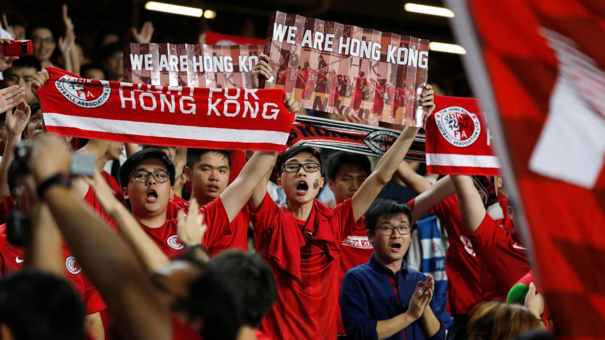 AFC fine Hong Kong after fans boo Chinese national anthem