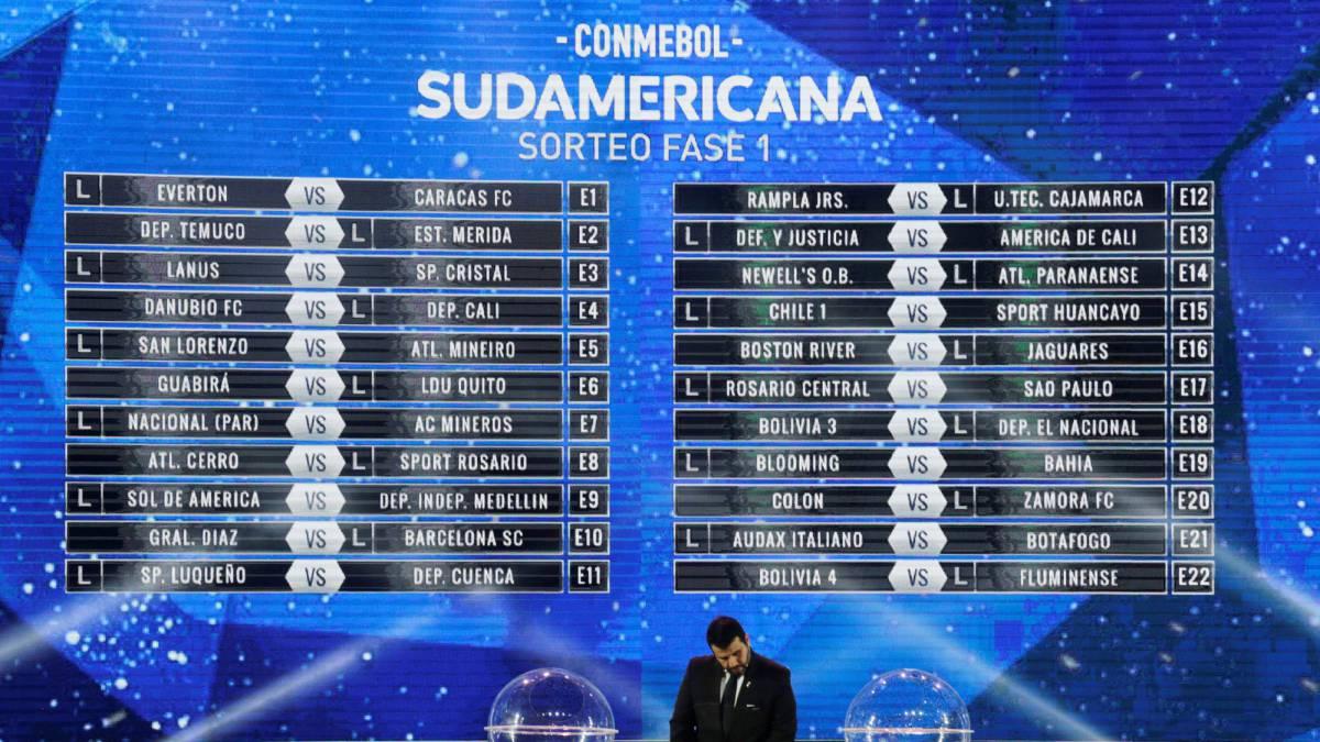 Definidos Los Cruces De La Copa Sudamericana 2018 As Com