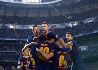 Real Madrid 0-3 Barcelona: El Clásico in pictures
