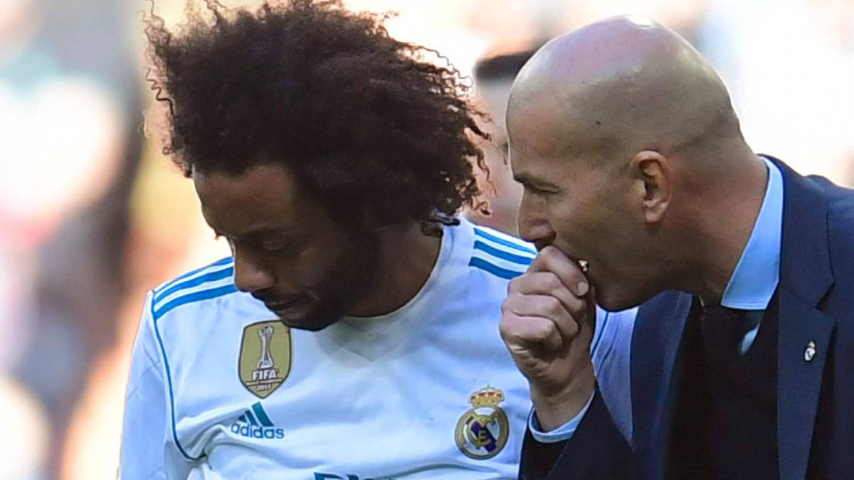 "Marcelo: ""I'm 100% behind Zidane, I'll defend him to the death"""