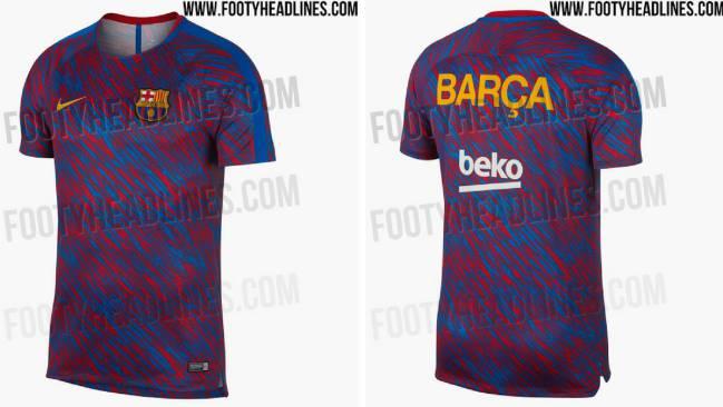 equipacion entrenamiento Barcelona nuevas