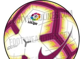 LaLiga 2018/19 official matchball design leaked online