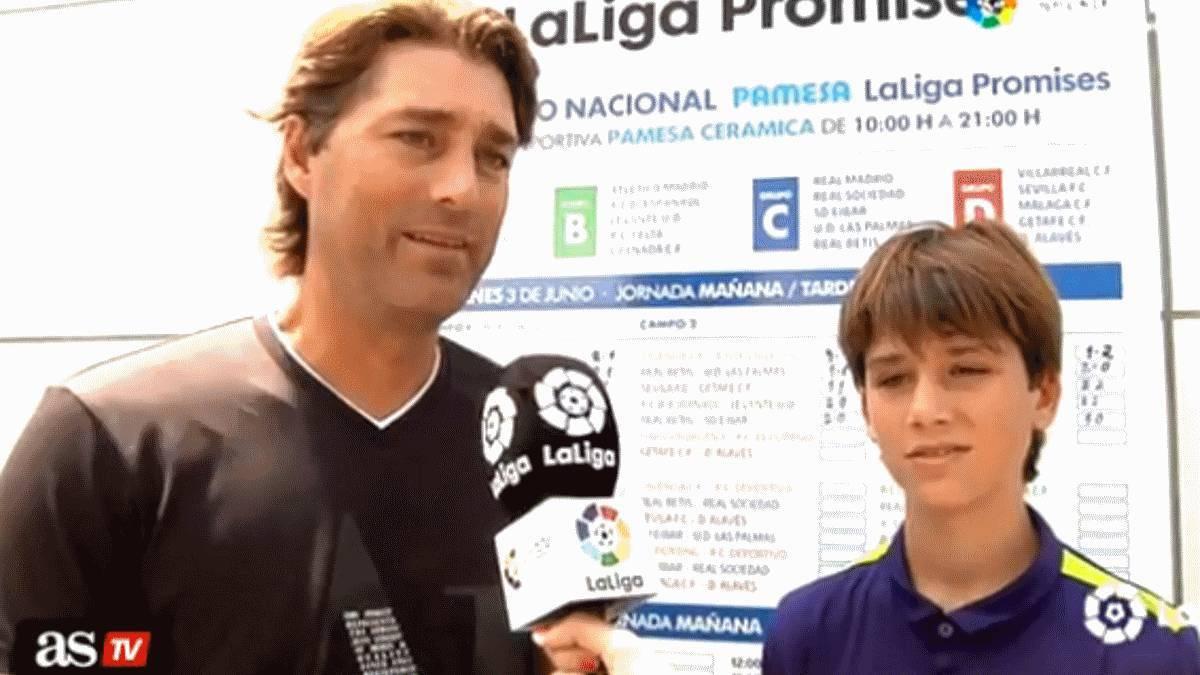 Urrutia explica por qué el hijo de Julen Guerrero no ha ido al Athletic y sí al Real Madrid