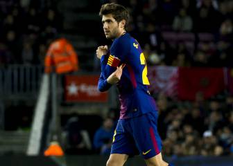 Negotiations to renew Sergi Roberto's contract stall
