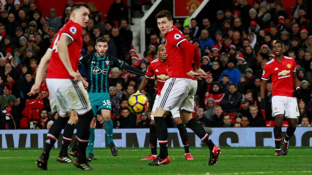 Manchester United, ante el Southampton.