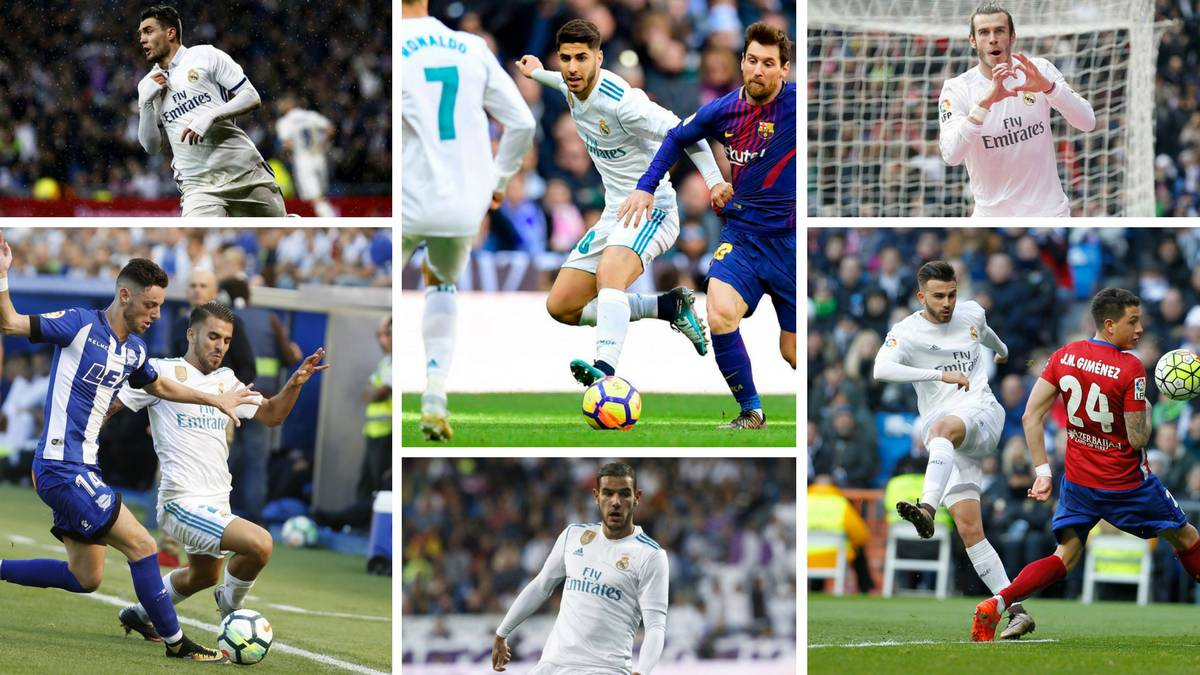 New year, new lease of life for Asensio, Bale, Ceballos…