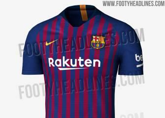 Se filtra la camiseta del Barça para la temporada 2018-2019 dcb8dae8b