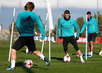 Benzema the only absence from Real Madrid training
