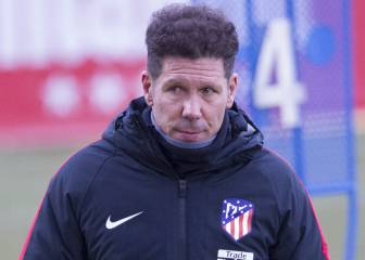 Simeone is Chelsea's main objective in the summer - report
