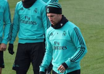 Sergio Ramos ruled out of Celta Vigo game with calf problem