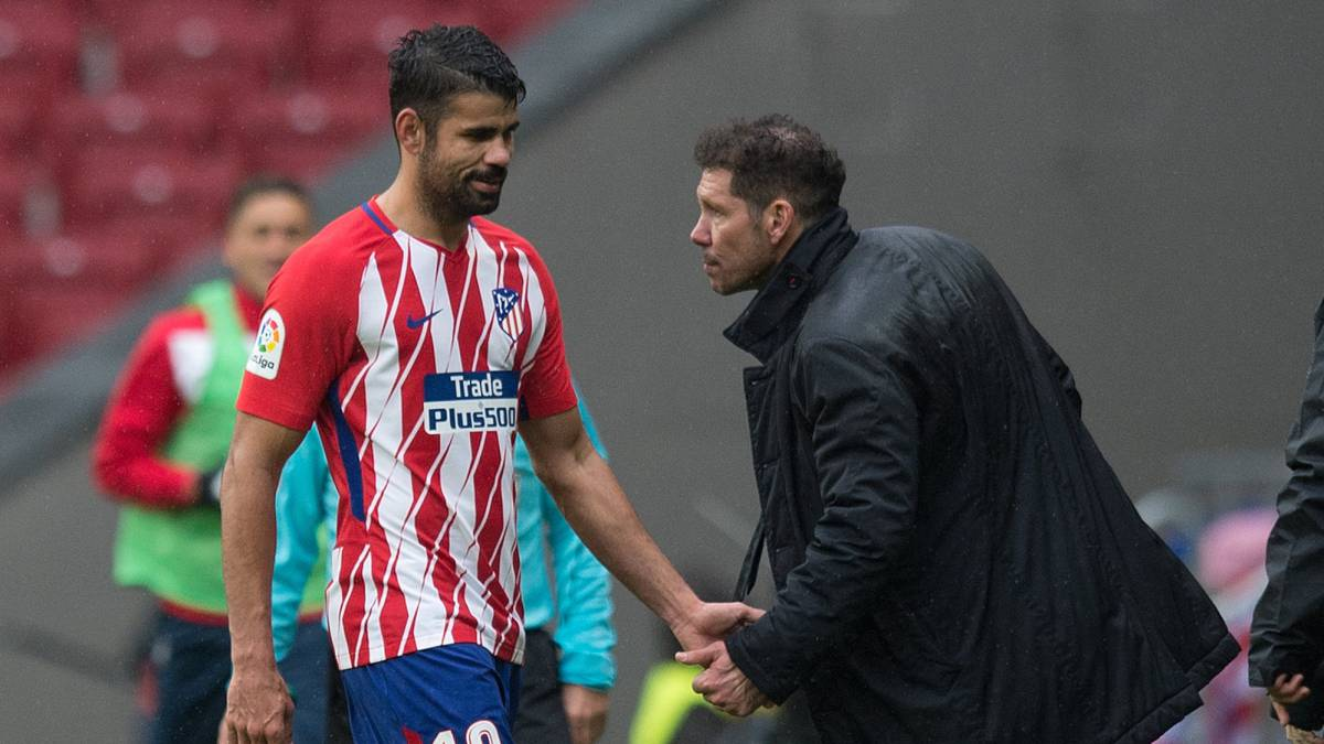 Simeone praises Costa but agrees with striker's sending off