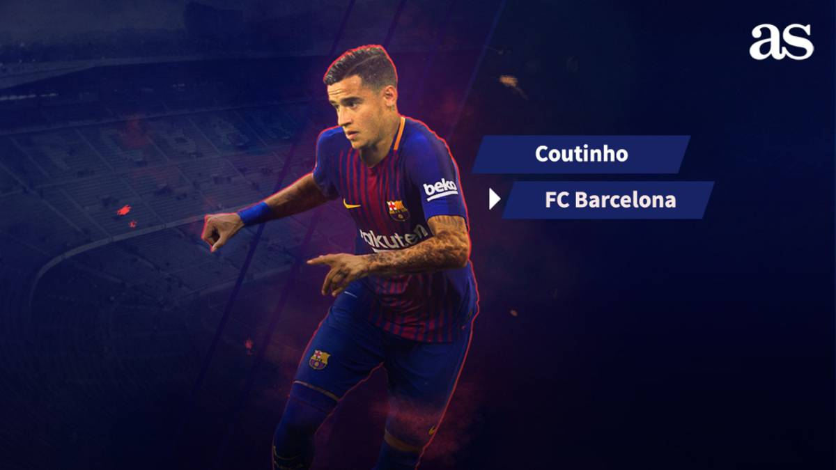 Official: Coutinho joins Barcelona from Liverpool