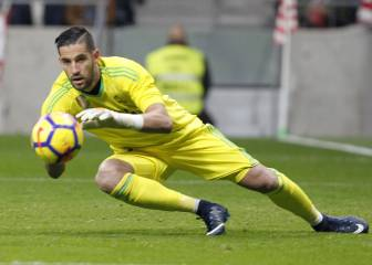 Getafe to turn to Kiko Casilla if Guaita joins Crystal Palace