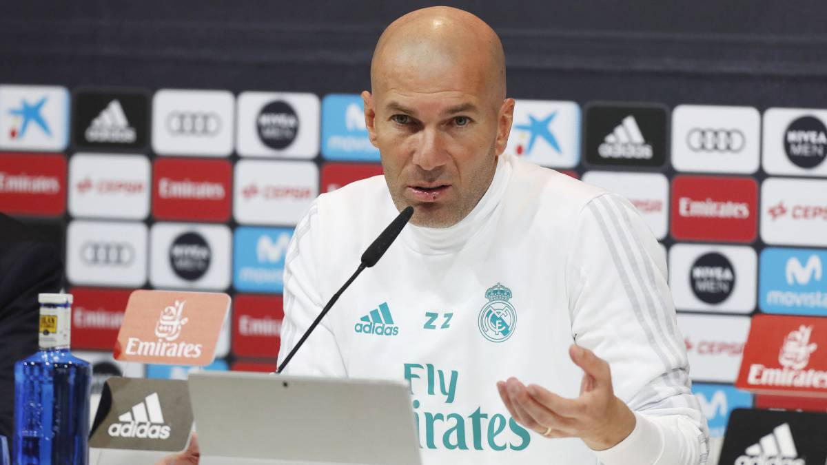 Zidane talks tough on Real Madrid crisis in press conference ahead of Numancia game