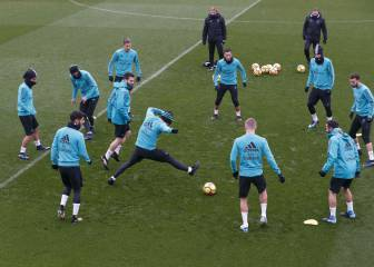 Zidane prepares for Numancia without Varane or Modric