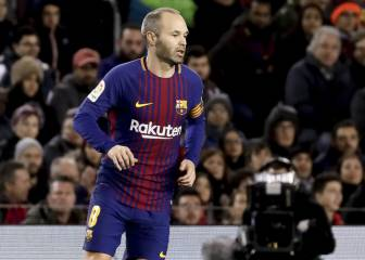 "Iniesta: ""Whoever comes, nobody will force me into retirement"""