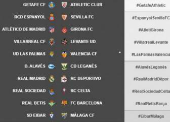 LaLiga change fixtures for Real Madrid and Atlético in week 20
