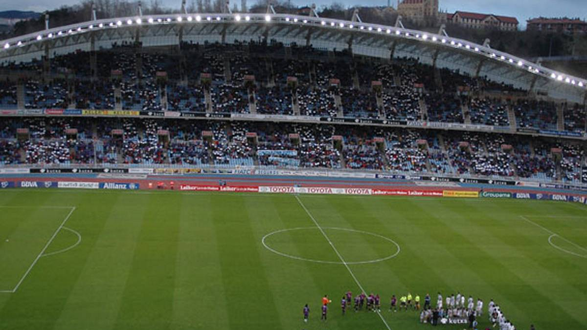 Real Sociedad vs. Barcelona at Anoeta is a sell-out