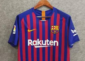 2018/19 Barcelona home shirt: first photos emerge online