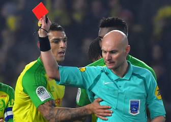 Red card kick controversy ref Tony Chapron suspended
