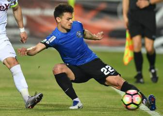 Athletic agree deal for Viitorul left back Cristian Ganea