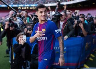 Barça new-boy Coutinho aims to reach the high expectations