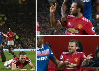Stoke City quick to defend United's Juan Mata for fair play