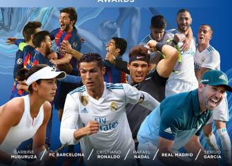 Ronaldo and Madrid nominated for Laureus awards