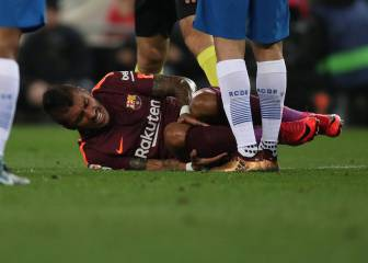 Paulinho another injury worry for Ernesto Valverde