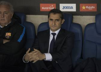Espanyol favourites after first-leg win - Barça boss Valverde