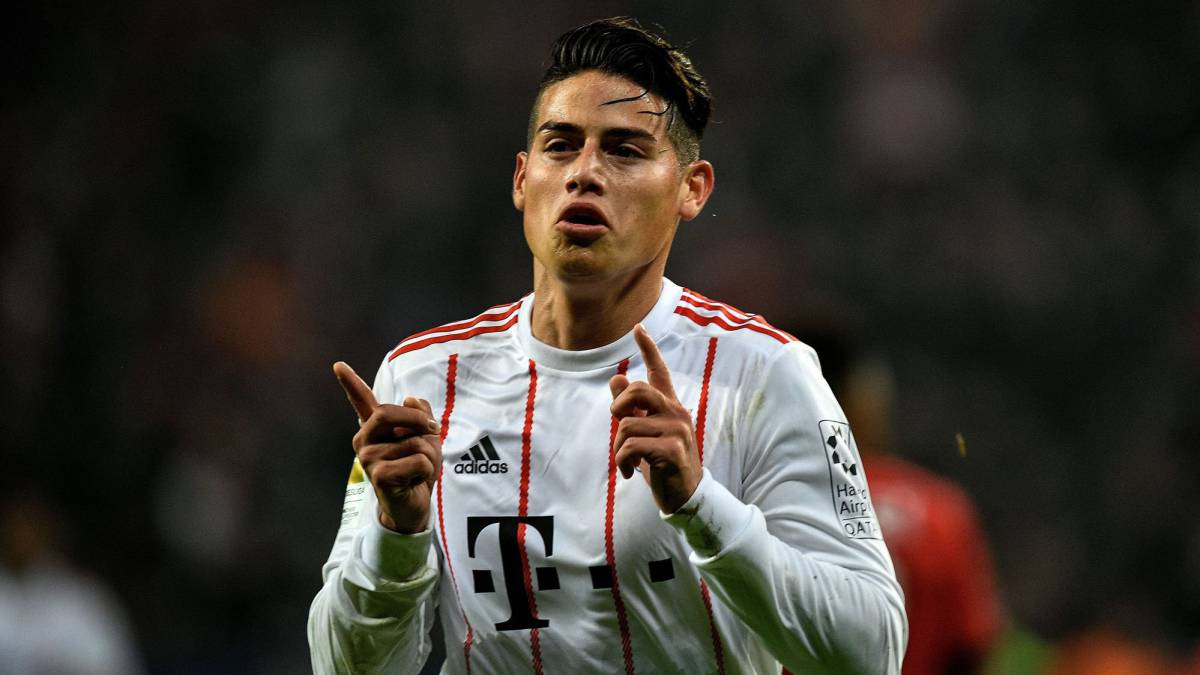 James, con el Bayern.