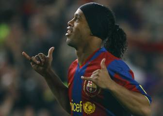 Ronaldinho's football farewell: