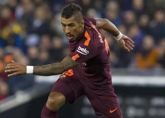 Barcelona fear Paulinho could have fractured his foot
