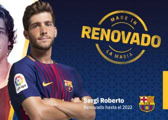 Sergi Roberto signs new Barcelona contract